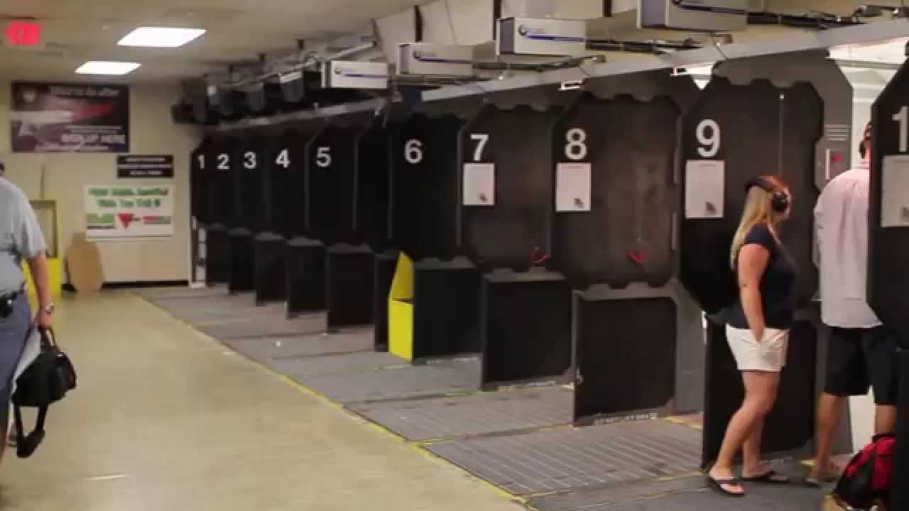 The Arms Room Gun Store and Indoor Firing Range - YouTube