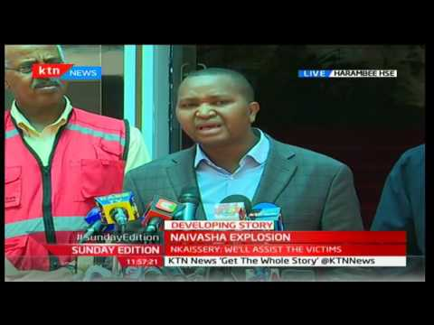 Sunday Edition: Transport PS Irungu Nyakera clarifies facts about the exploded trunk