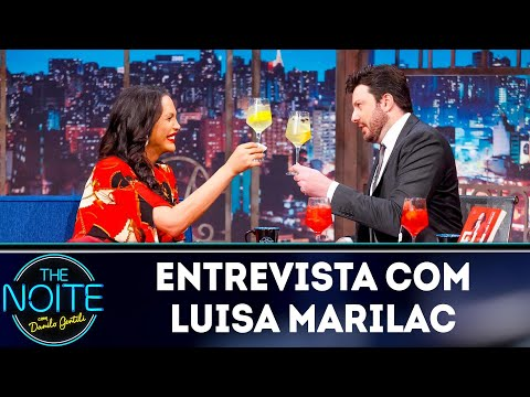 Entrevista com Luisa Marilac  The Noite 160419