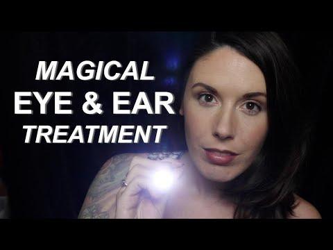 Nightmare Extraction: Magical Eye & Ear Exam ASMR Role Play