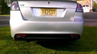2009 Pontiac g8 gt pacesetter headers