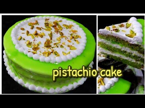 വായിലിട്ടാൽ അലിഞ്ഞു പോകും||pistachio Cake||malayalam Cake Recipe||malabarian Recipes By Shadiya||