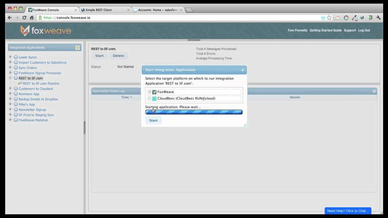 Exposing a REST interface using a Webhook