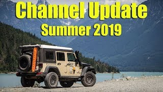Channel Update Summer 2019 - Speaking across North America NOW & New Africa Videos Soon