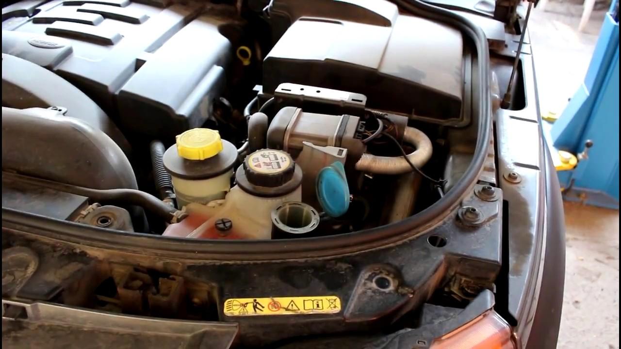 Land Rover Discovery 3 Ленд Ровер Дискавери 3 2006 года Побежал бачок стеклоомывателя