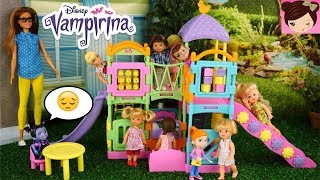 Vampirina Gets Bullied in the Barbie School  Playground - Who Will Stick Up For Her?