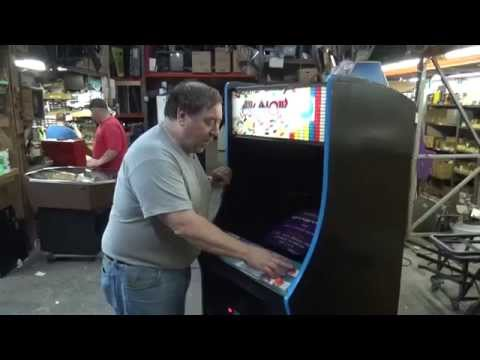 #626 Taito Romstar ARKANOID Arcade Video Game- Like BREAKOUT! TNT Amusements