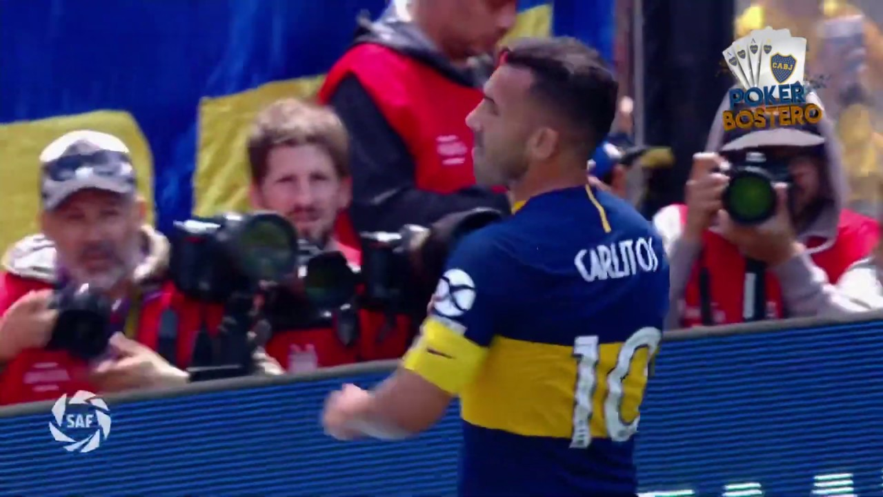 Boca Juniors vs Arsenal. Superliga fecha 12. Poker Bostero.