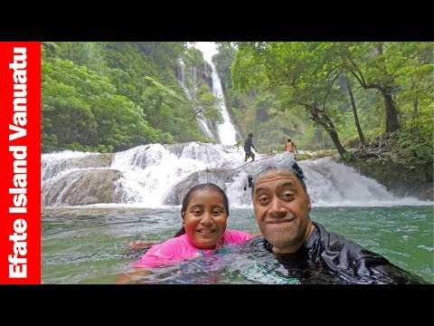 Vlogging The Mele Cascade Waterfalls | Efate Island Vanuatu