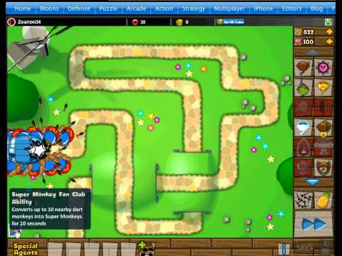 Bloons Tower Defense 5 M.O.A.B. Madness - YouTube