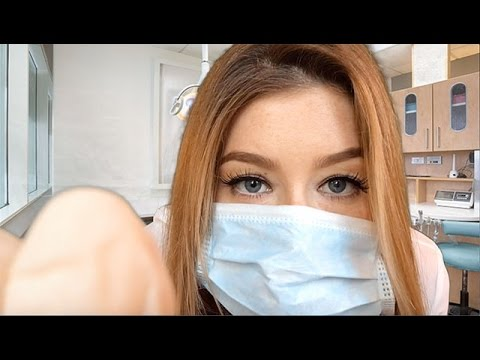 ASMR Visiting Your British Hygienist Role Play | Latex Gloves,Tapping,Whispering, Personal Attention