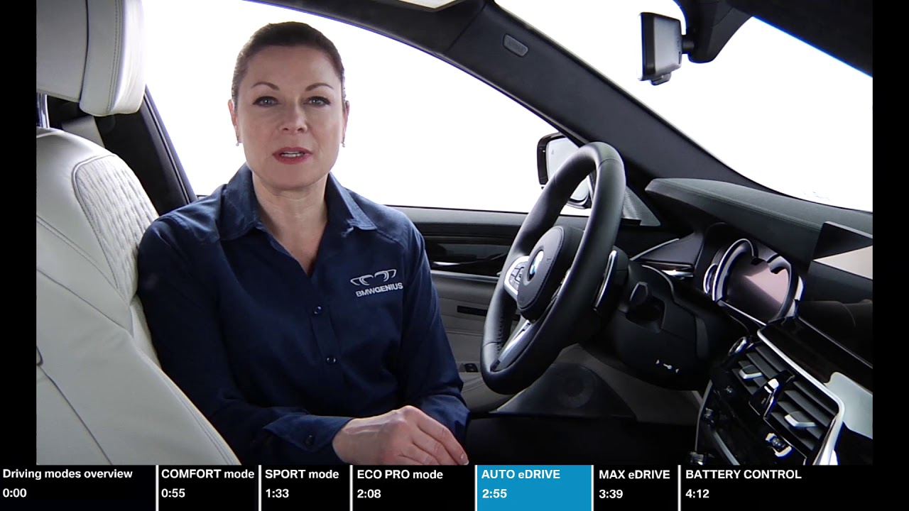 iPerformance Driving Dynamics Control and eDrive Modes Overview | BMW Genius How-To