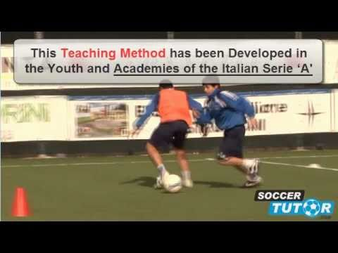 Individual Defending Tactics  Soccer Italian Style Academy Training DVD