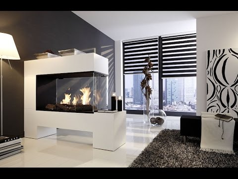 raumteiler kamin ohne schornstein erh ltlich als ethanolkamin oder elektrokamin youtube. Black Bedroom Furniture Sets. Home Design Ideas