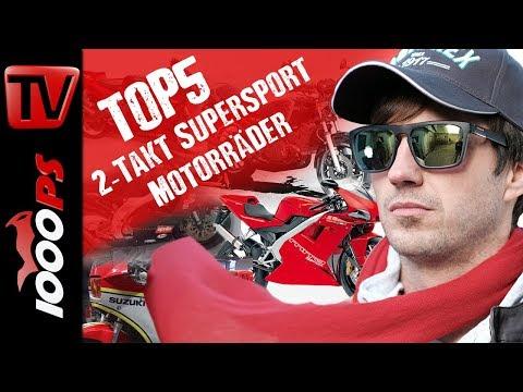 Top 5 - 2-Takt Supersport Motorräder