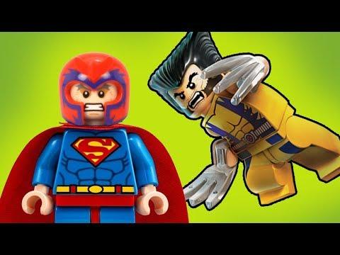 СуперМагнето или Росомаха сошел с ума! Новые Лего Мультики  #мультфильмы 2018