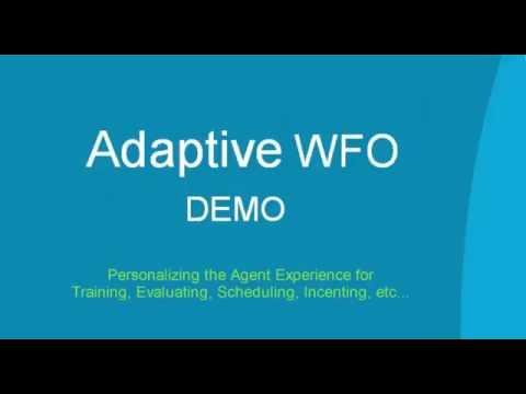 Adaptive WFO Agent Dashboard Demo