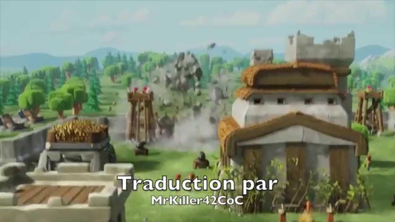 Exceptionnel Clash Of Clans - La publicité Clash of Clans pour le Super Bowl  VJ11