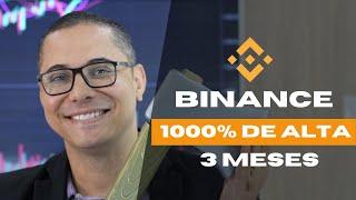 BINANCE - A MINHA GRANDE APOSTA! 1000% DE LUCRO EM 3 MESES