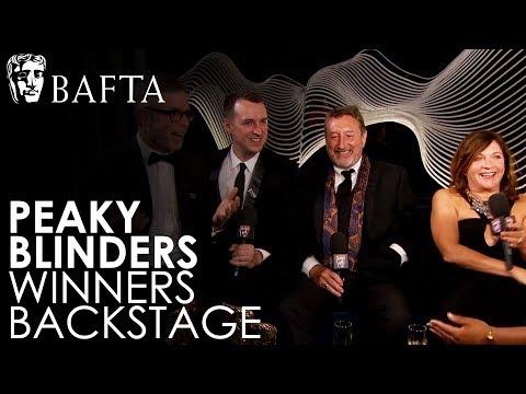 Peaky Blinders on Winning Drama Series | BAFTA TV Awards 2018