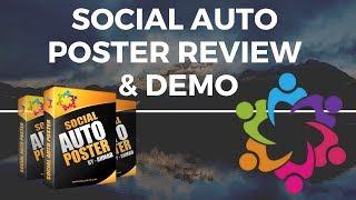Social Auto Poster Review & Demo