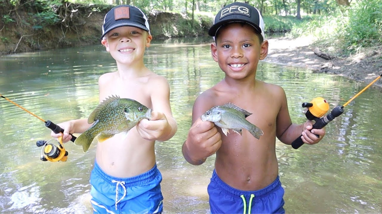 Download Micro Fishing Challenge at the Creek!