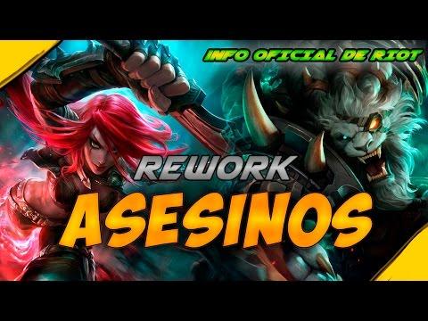Rework ASESINOS, info OFICIAL de RIOT | Noticias League Of Legends LoL