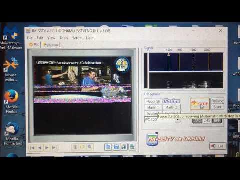 ISS - International space station SSTV ham radio