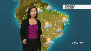 Previsão Brasil – Chuva se concentra no Nordeste e Norte