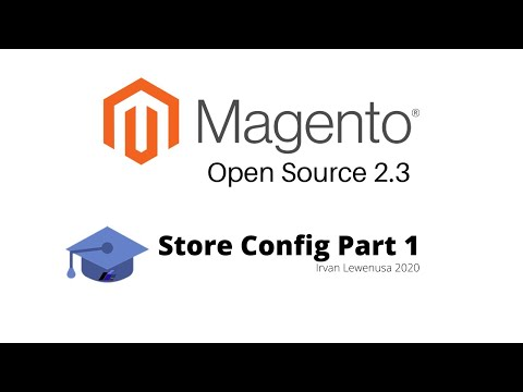 Magento 2.3 CE Store Config Part 1 in Bahasa Indonesia
