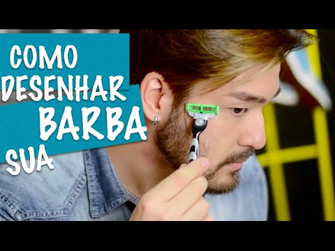 Como Desenhar Sua Barba Por Fabiano Okabayashi Youtube