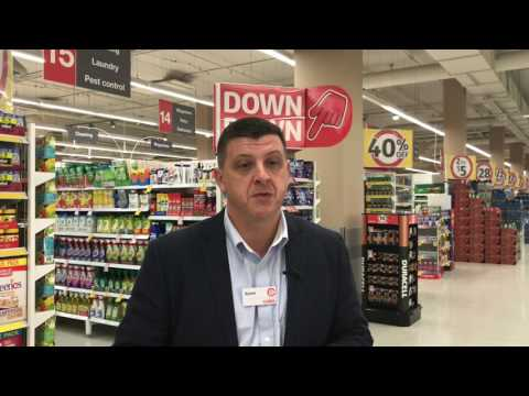 Kevin Gunn talks about careers with Coles Supply Chain