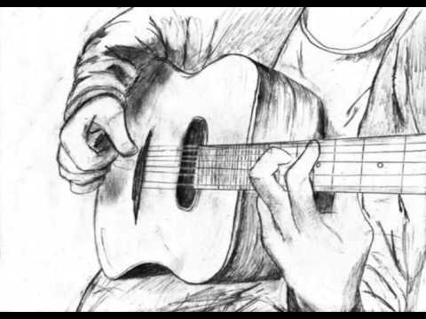 Dean V Acoustic Guitar