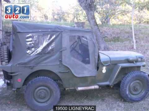 occasion jeep willys ligneyrac youtube. Black Bedroom Furniture Sets. Home Design Ideas