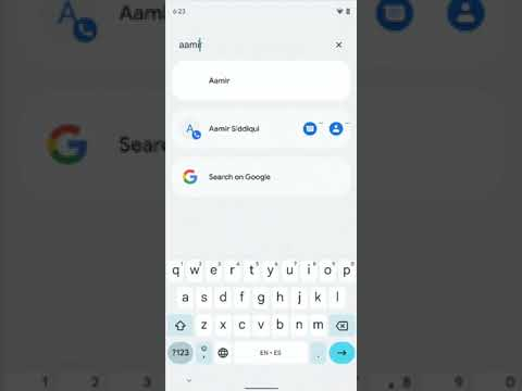 Android 12 Universal Search Demo