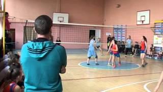 Первенство по волейболу среди школ района