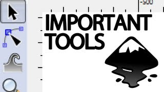 The Most Important Tools in Inkscape