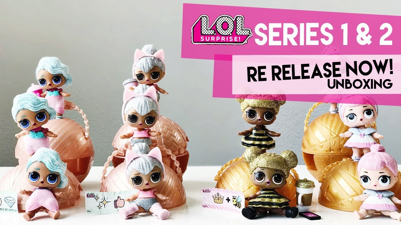 Lol Surprise Series 1 2 Re Release Again At Walgreens Party