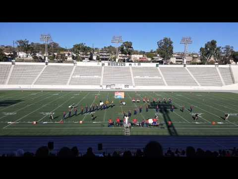 James Monroe High School Viking Marching Band 2016 (North Hills, Ca)