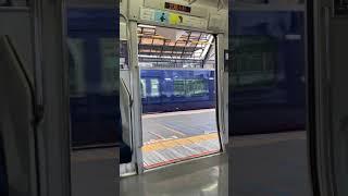 【JR東日本 ドア開閉】JR横須賀線武蔵小杉駅4番線 発車メロディ&E217系ドア開閉シーン