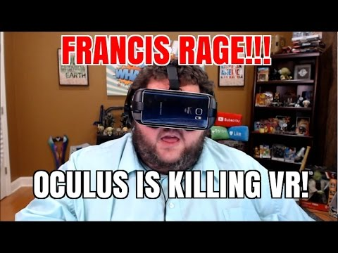 FRANCIS HATES OCULUS VIRTUAL REALITY
