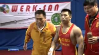 CHEN Lijun 1s 138 kg cat. 62 World Weightlifting Championship 2013