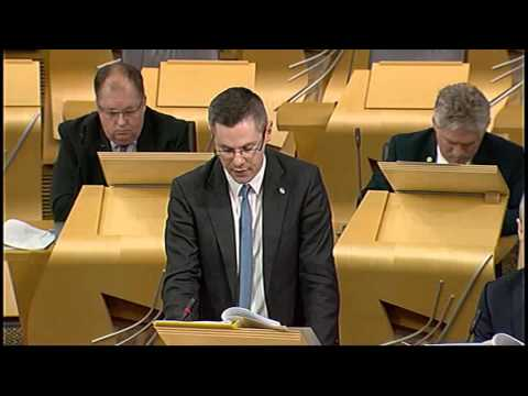 Portfolio Questions - Scottish Parliament: 15th January 2014