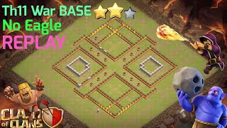 Th10.75 War Base 2018/ Anti 3 Star / indestructible 💪