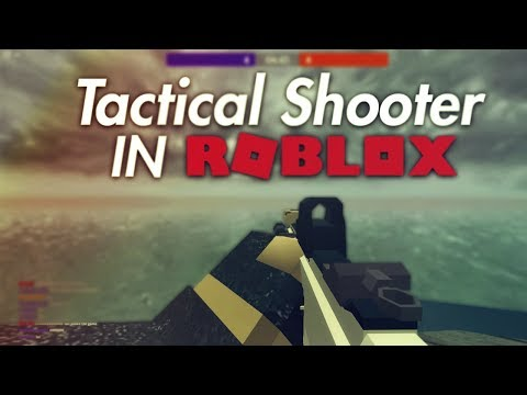 Most Tactical Shooter in ROBLOX (Operation Scorpion PRE-ALPHA)
