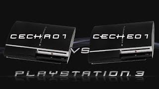 Which is the Best Backwards Compatible PlayStation 3? | CECHA01 vs CECHE01 | Shotana VS.