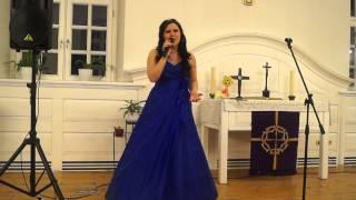 Ольга Голованова.Сольный концерт в Кирхе ,,Старая Сарепта,,