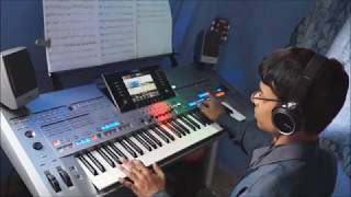 Tyros 5 - Flying Theme (How to Train Your Dragon) Keyboard Cover