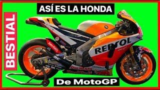 Asi es la Honda de MotoGP. ¿Tecnologia de otro Planeta?