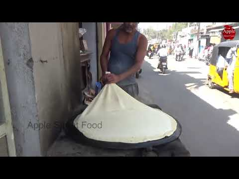 King of Rumali Roti In hyderabad Old City || Apple Street Food
